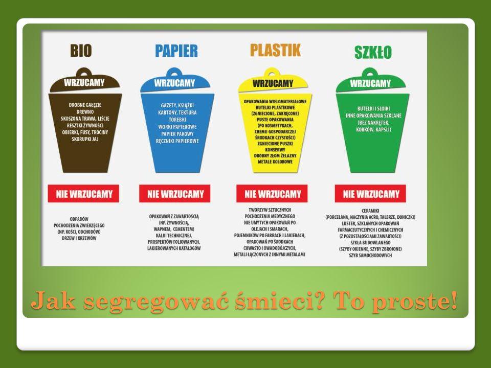 Jak segregować śmieci To proste!
