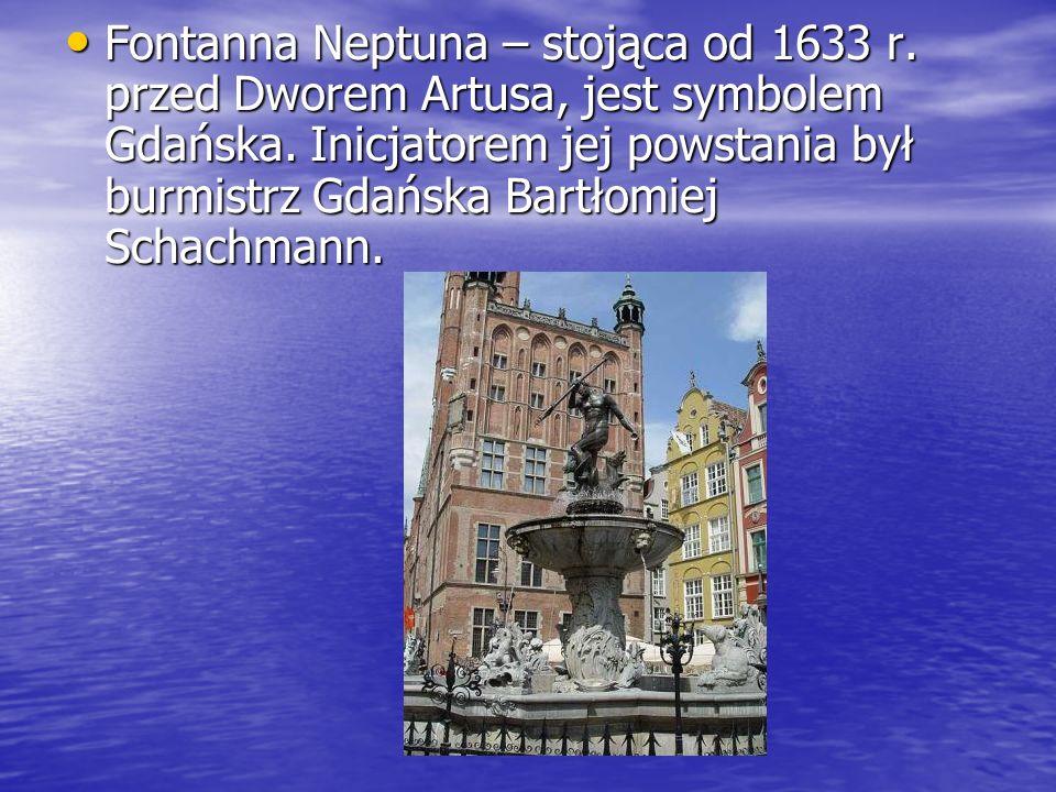 Fontanna Neptuna – stojąca od 1633 r