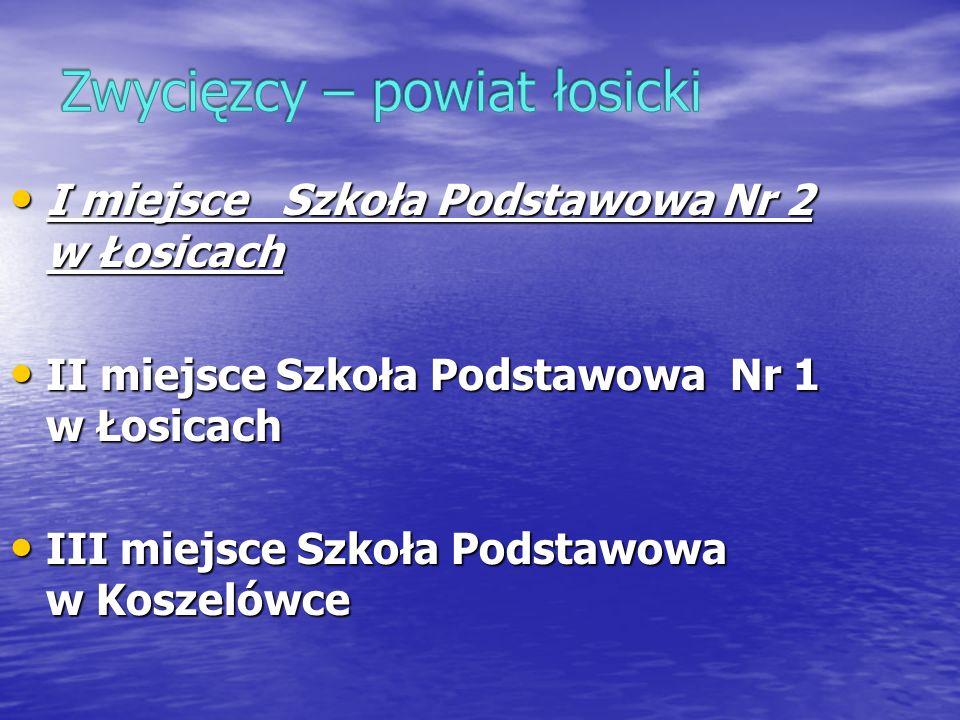 Zwycięzcy – powiat łosicki