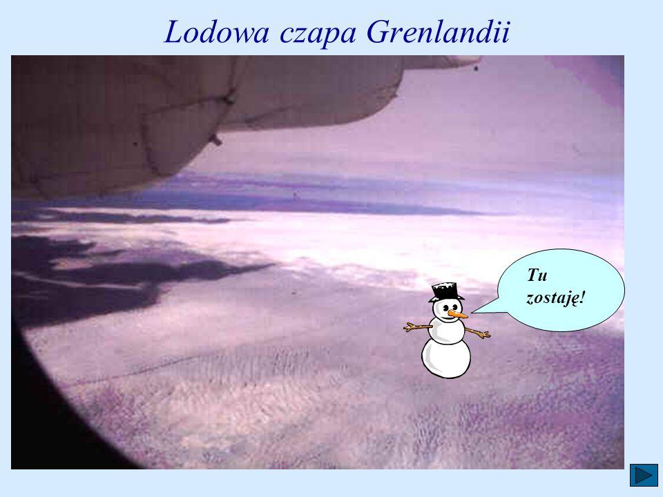 Lodowa czapa Grenlandii