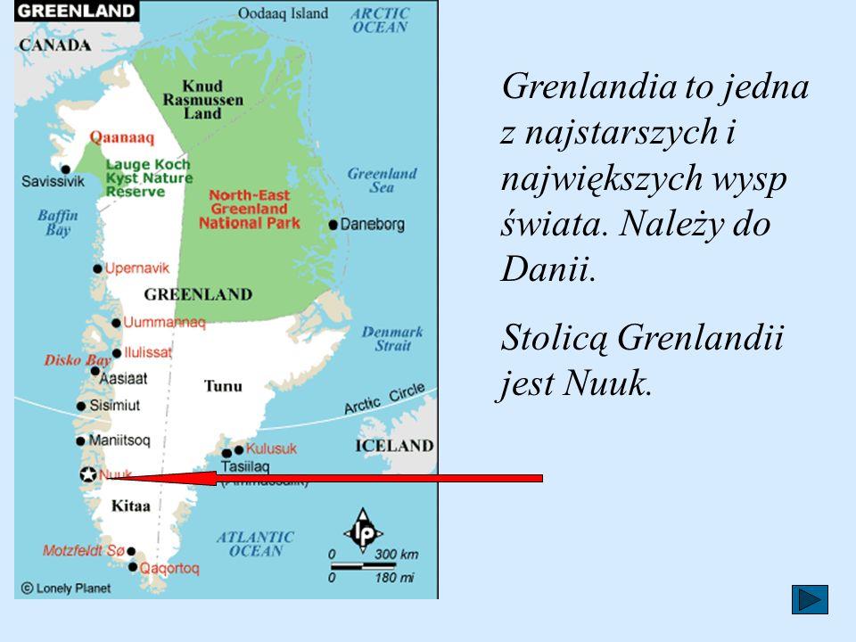 Grenlandia to jedna z najstarszych i największych wysp świata