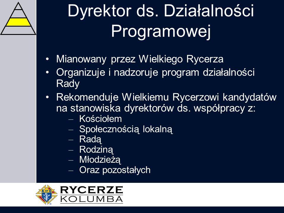 Dyrektor ds. Działalności Programowej