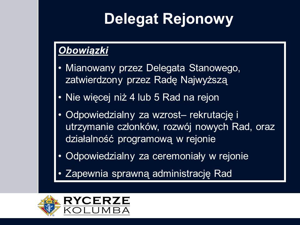 Delegat Rejonowy Obowiązki
