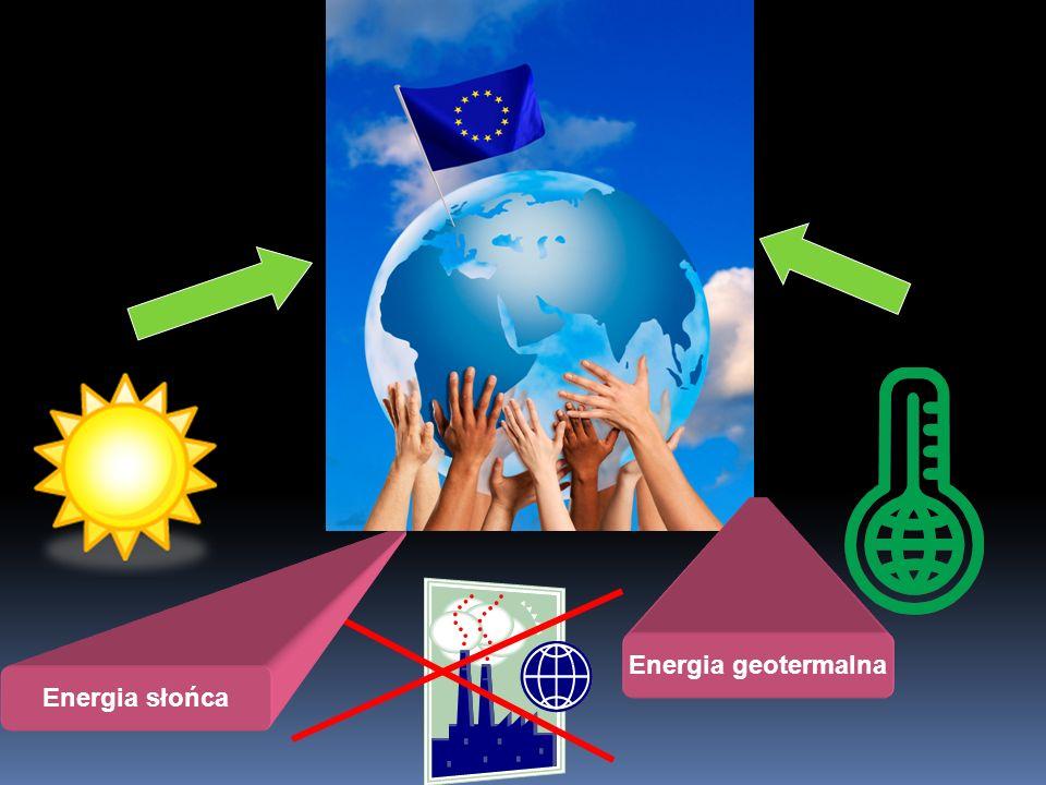 Energia geotermalna Energia słońca