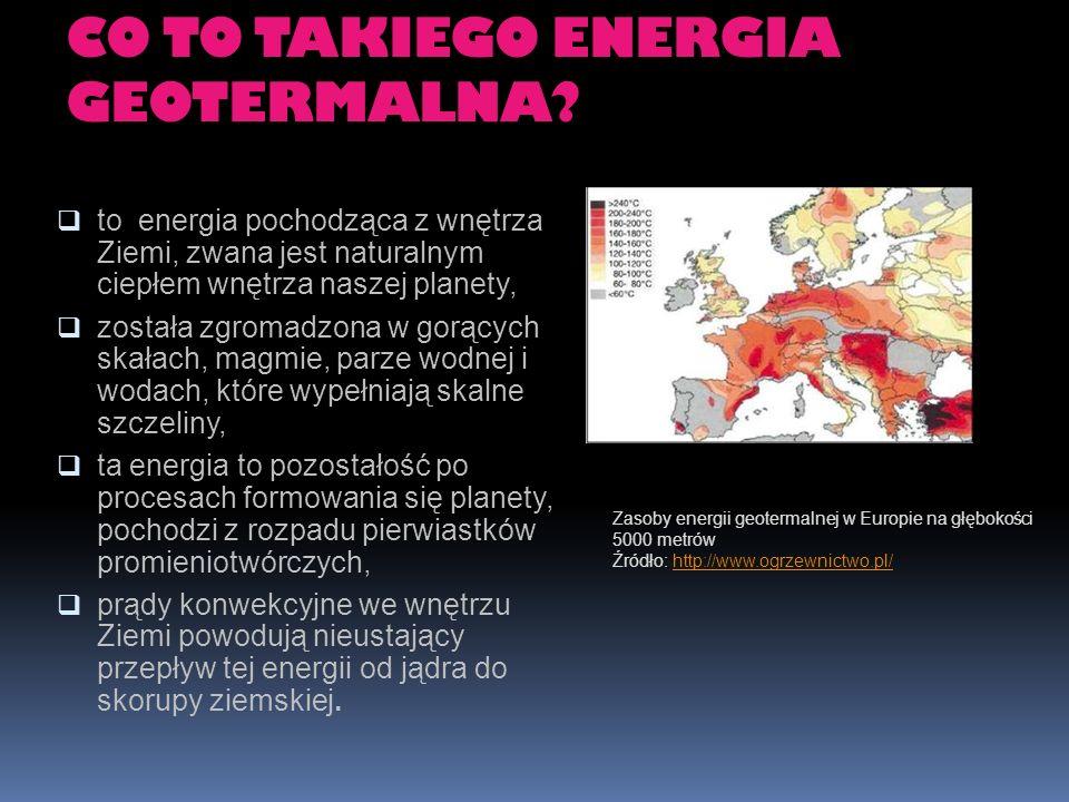CO TO TAKIEGO ENERGIA GEOTERMALNA