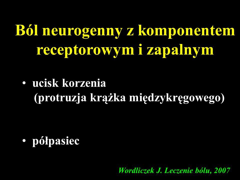 Ból neurogenny z komponentem receptorowym i zapalnym