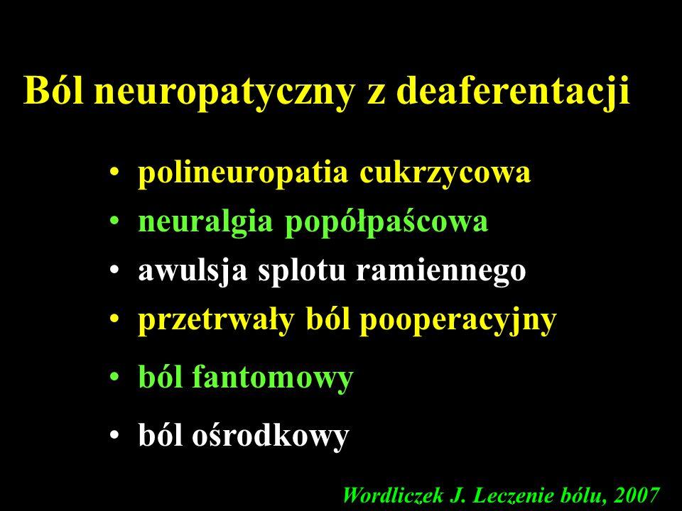 Ból neuropatyczny z deaferentacji
