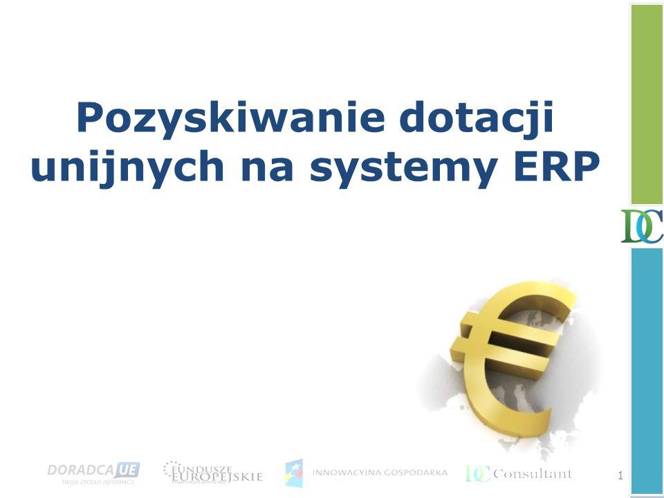 Pozyskiwanie dotacji unijnych na systemy ERP