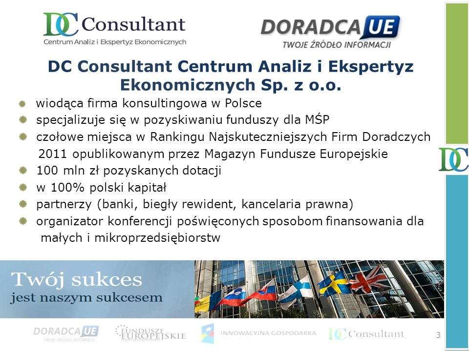 DC Consultant Centrum Analiz i Ekspertyz Ekonomicznych Sp. z o.o.