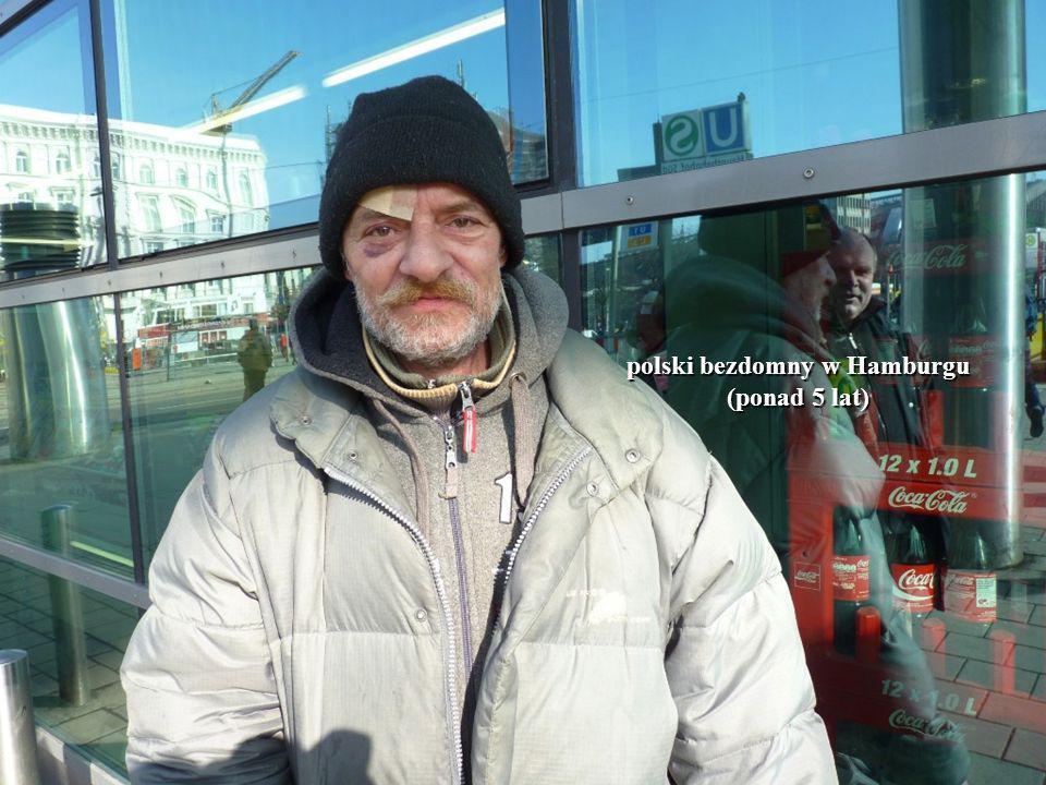 polski bezdomny w Hamburgu (ponad 5 lat)