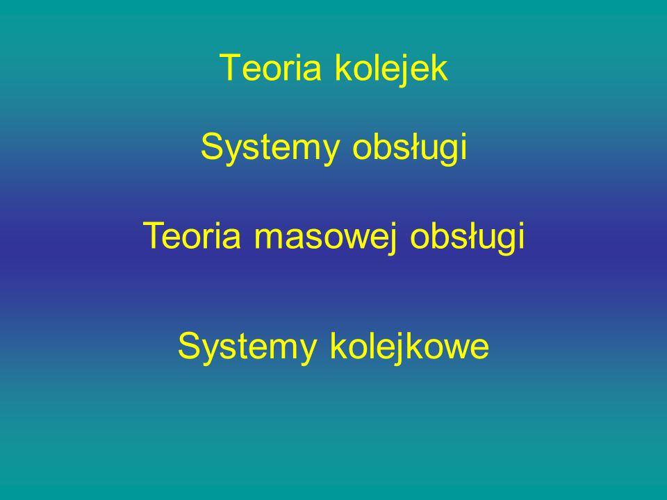 Teoria masowej obsługi