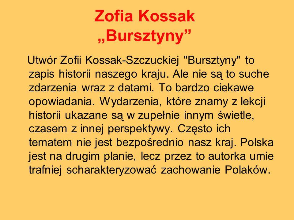 """Zofia Kossak """"Bursztyny"""