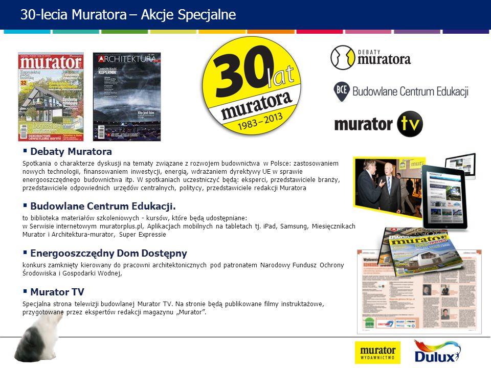 30-lecia Muratora – Akcje Specjalne