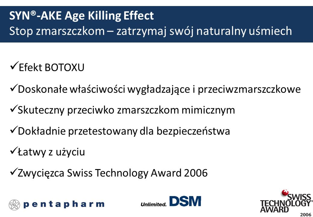 SYN®-AKE Age Killing Effect