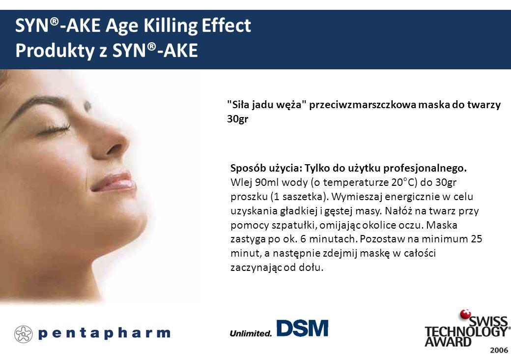 SYN®-AKE Age Killing Effect Produkty z SYN®-AKE