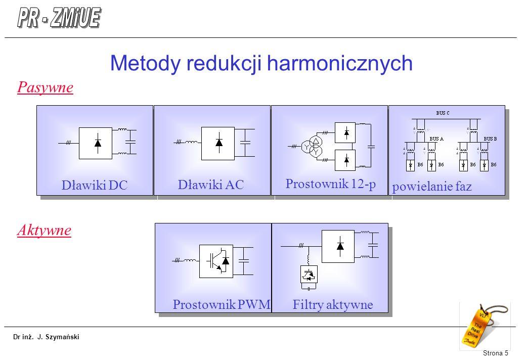 Metody redukcji harmonicznych