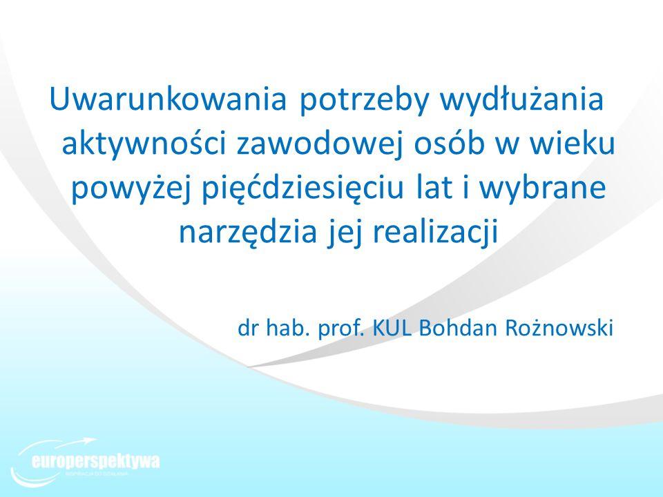 dr hab. prof. KUL Bohdan Rożnowski