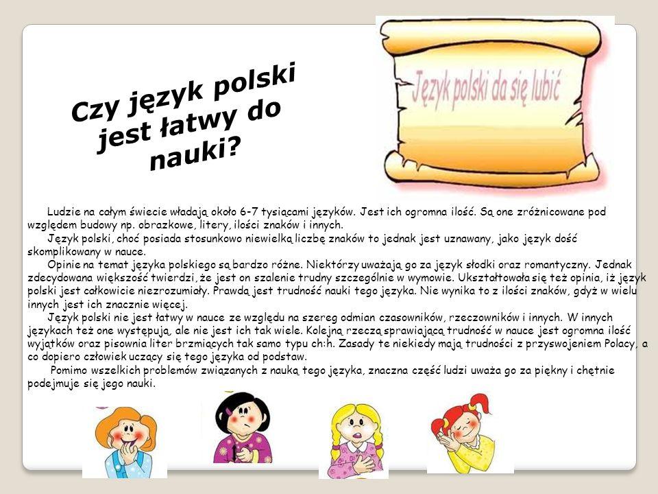 Czy język polski jest łatwy do nauki
