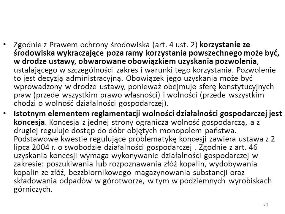 Zgodnie z Prawem ochrony środowiska (art. 4 ust