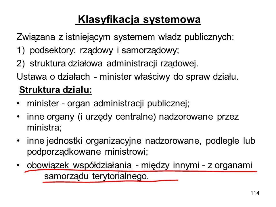 Klasyfikacja systemowa
