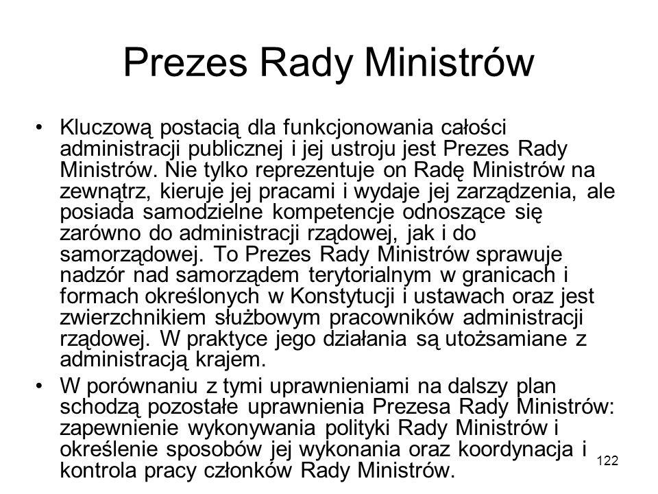 Prezes Rady Ministrów