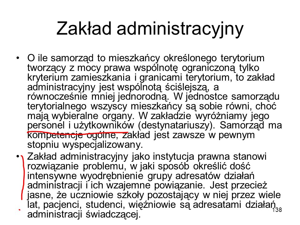Zakład administracyjny