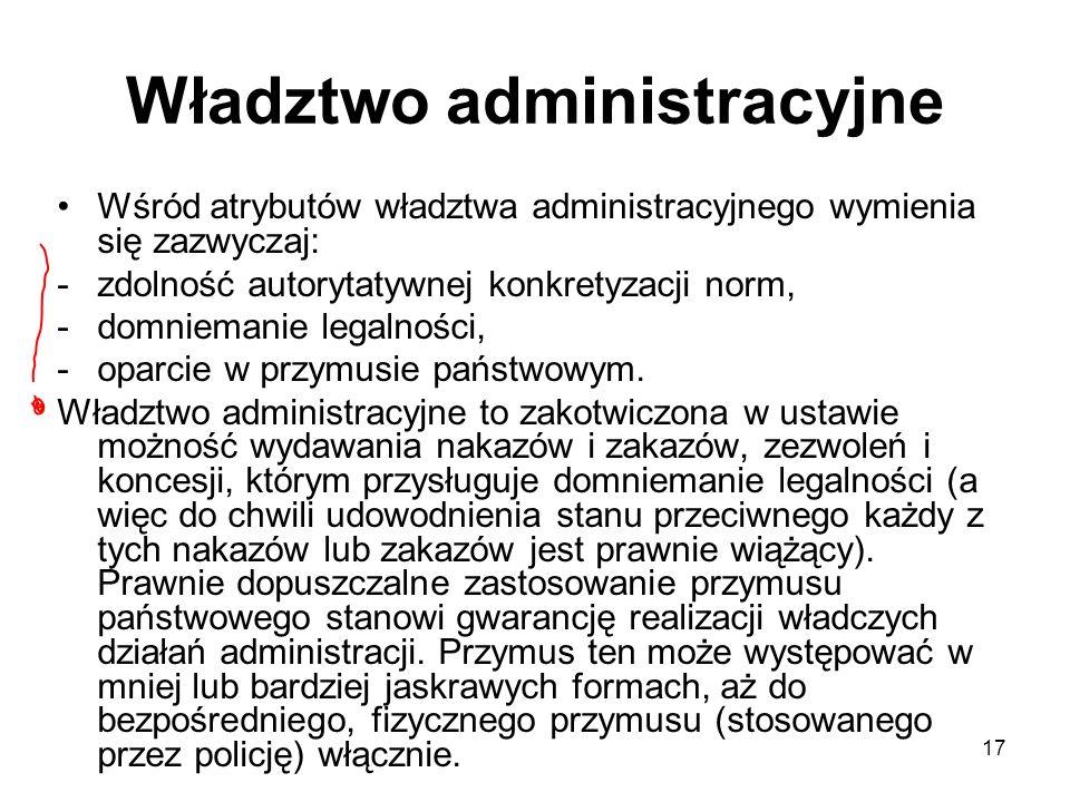 Władztwo administracyjne