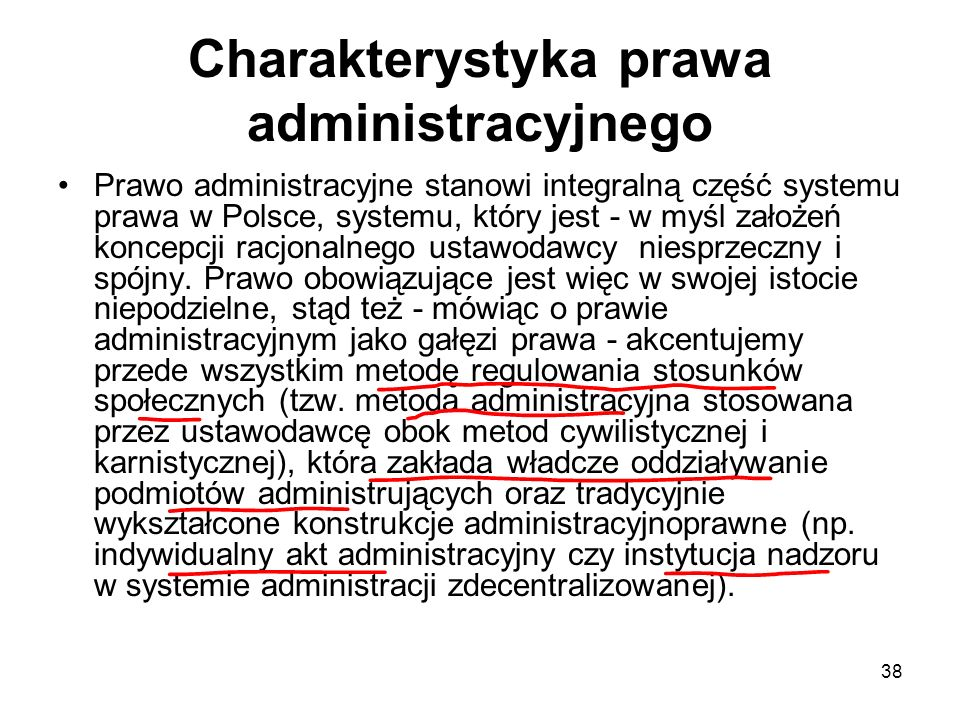 Charakterystyka prawa administracyjnego