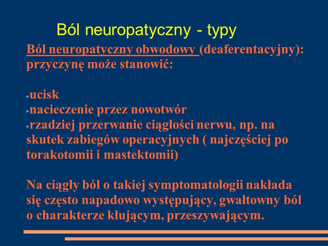 Ból neuropatyczny - typy