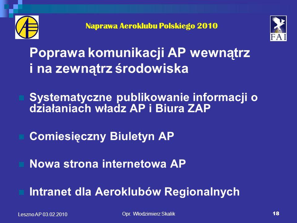 Naprawa Aeroklubu Polskiego 2010