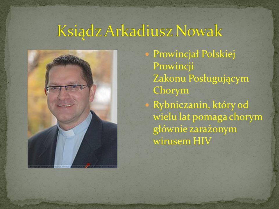 Ksiądz Arkadiusz Nowak
