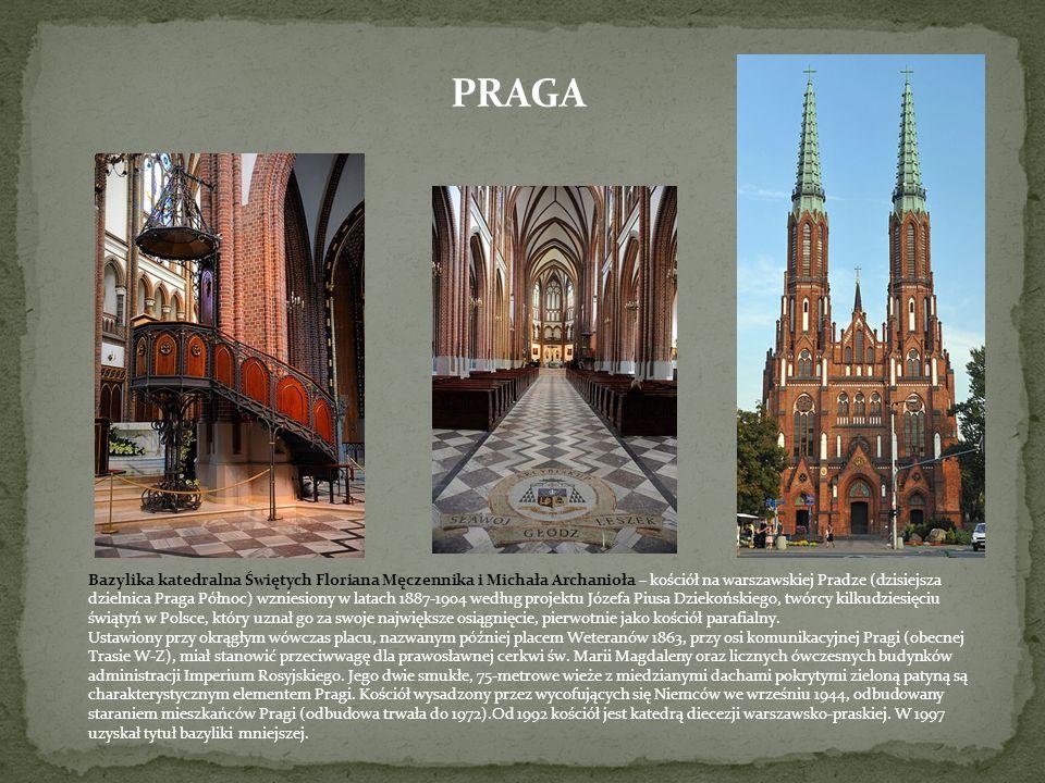 PRAGA Katedra św. Michała i św. Floriana