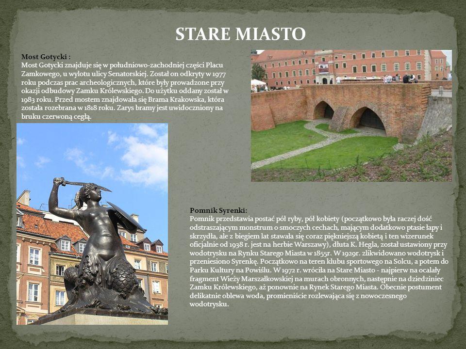 STARE MIASTO Most Gotycki :