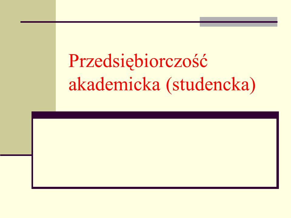 Przedsiębiorczość akademicka (studencka)