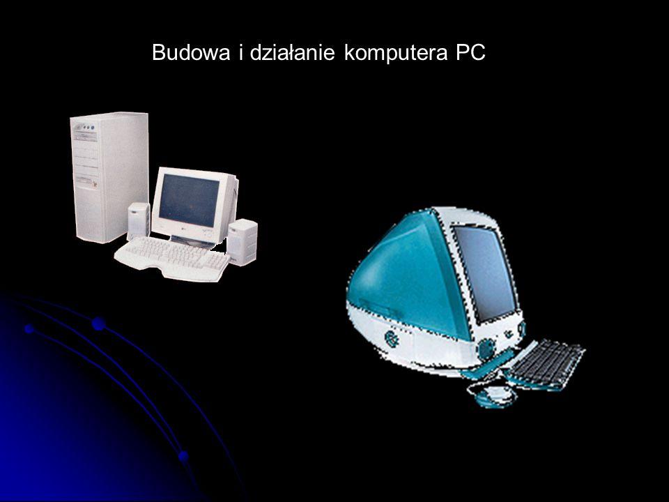 Budowa i działanie komputera PC