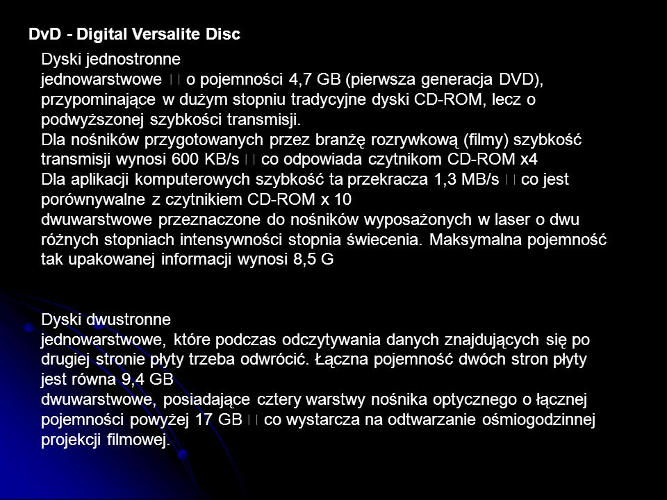 DvD - Digital Versalite Disc