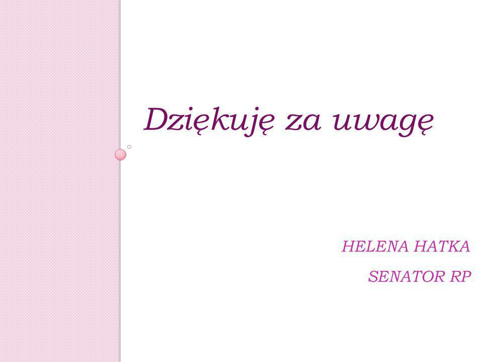 Helena Hatka Senator RP