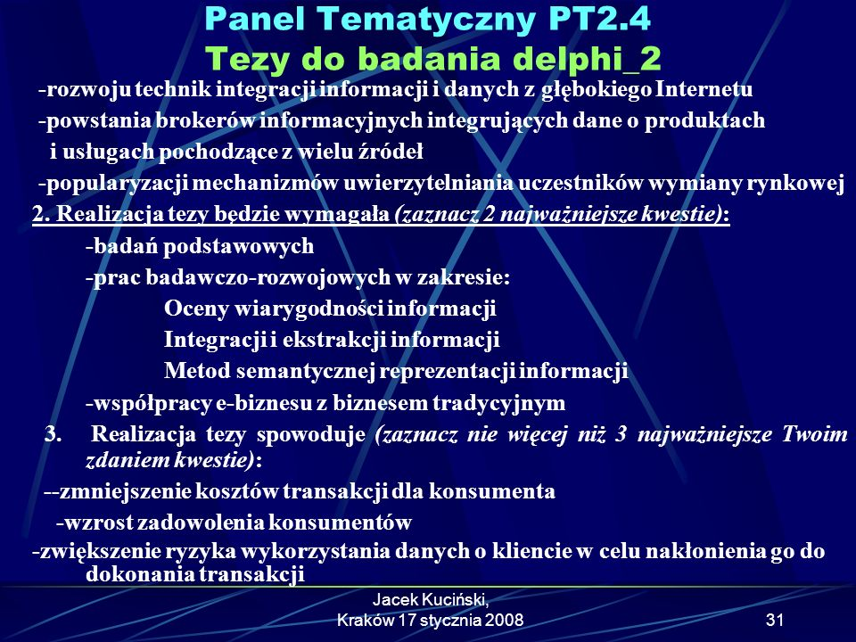 Panel Tematyczny PT2.4 Tezy do badania delphi_2