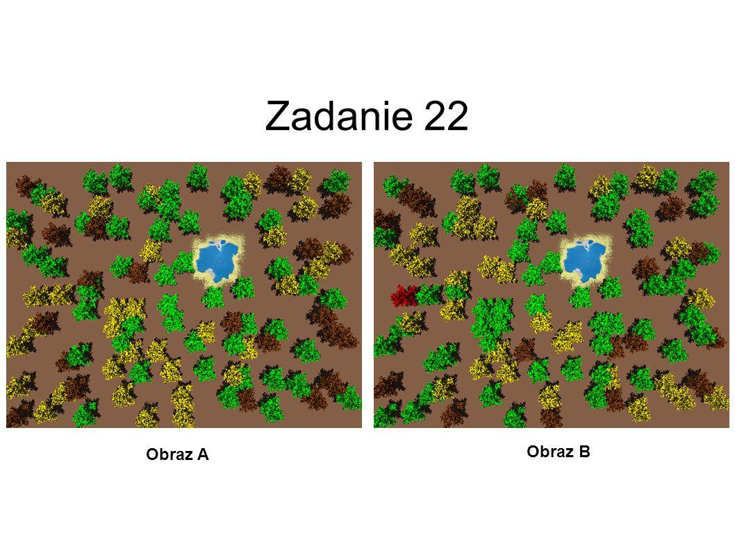 Zadanie 22 Obraz A Obraz B 23