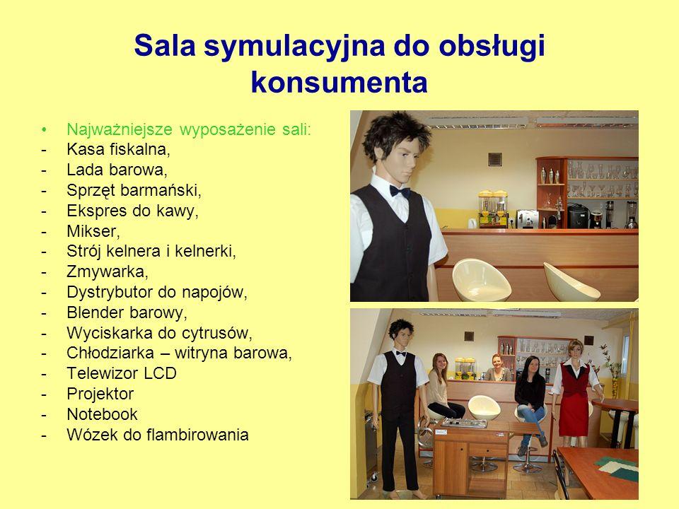 Sala symulacyjna do obsługi konsumenta