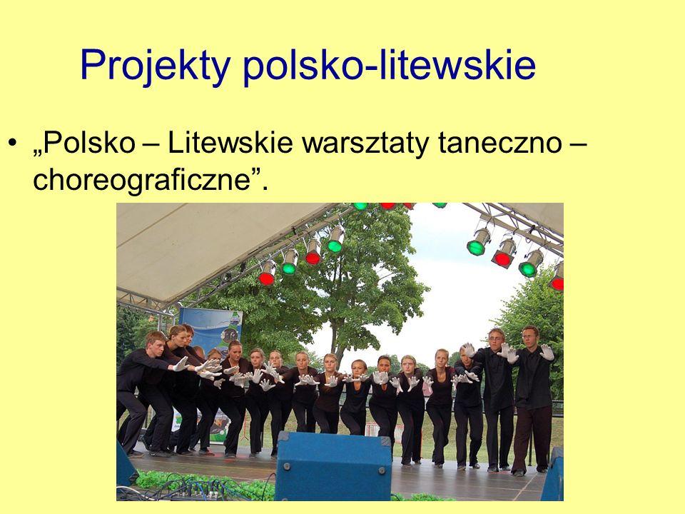 Projekty polsko-litewskie