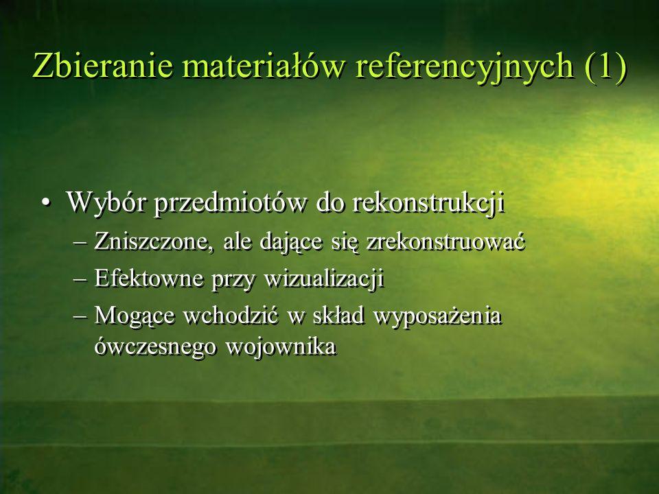 Zbieranie materiałów referencyjnych (1)