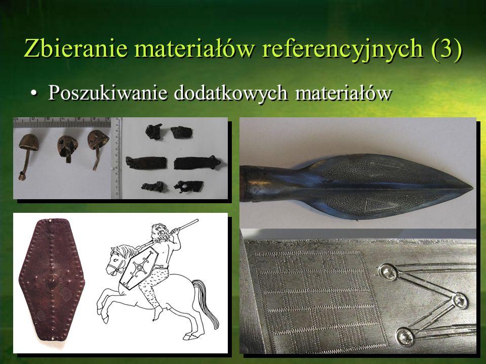 Zbieranie materiałów referencyjnych (3)
