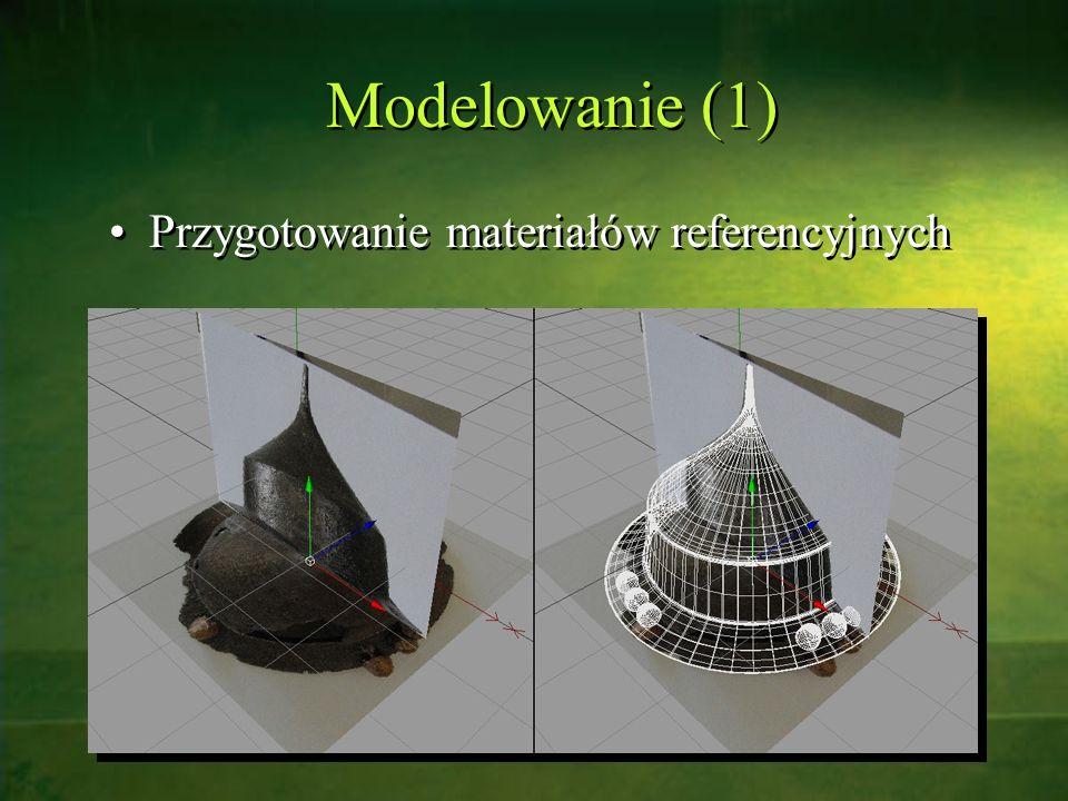 Modelowanie (1) Przygotowanie materiałów referencyjnych