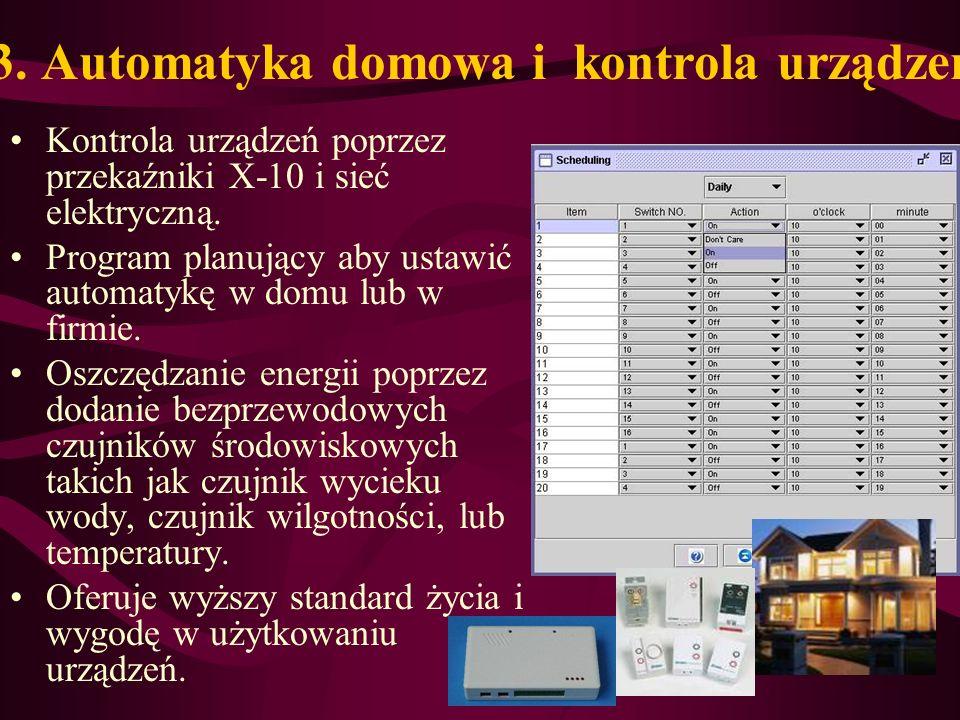 3. Automatyka domowa i kontrola urządzeń