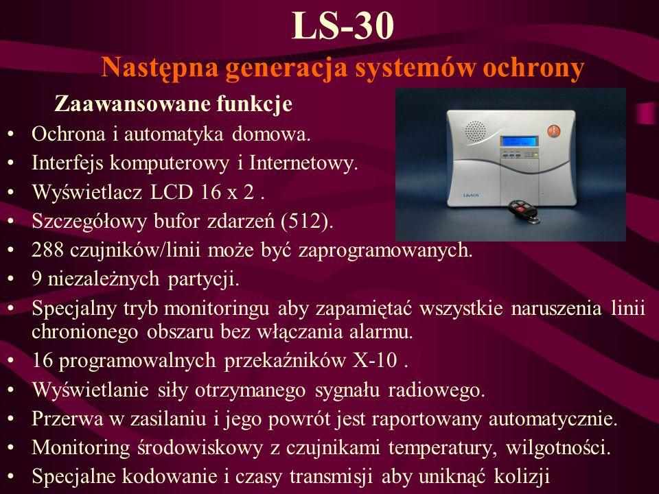 LS-30 Następna generacja systemów ochrony