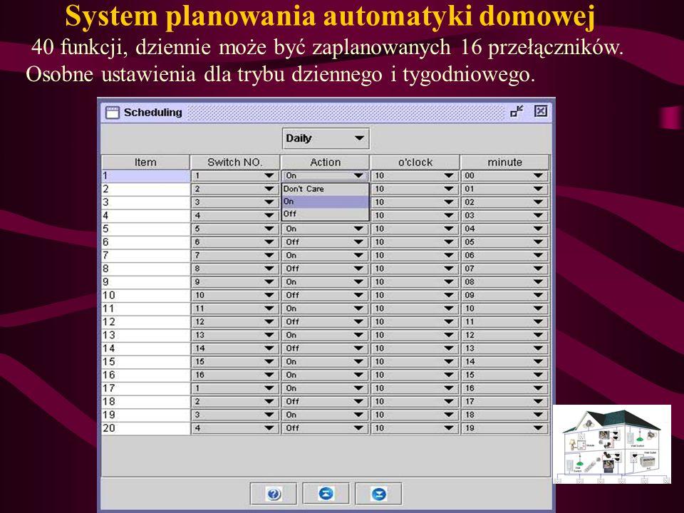 System planowania automatyki domowej