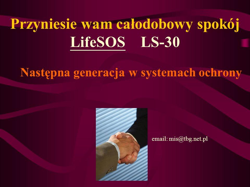 Przyniesie wam całodobowy spokój LifeSOS LS-30