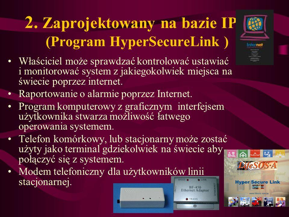 2. Zaprojektowany na bazie IP (Program HyperSecureLink )