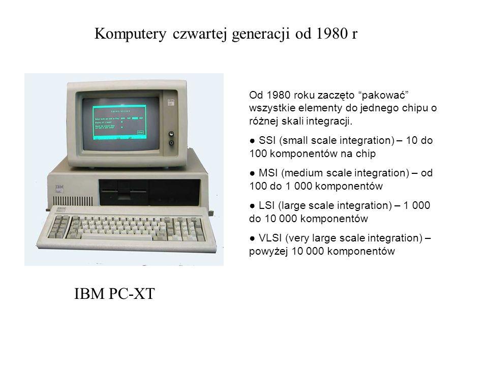 Komputery czwartej generacji od 1980 r